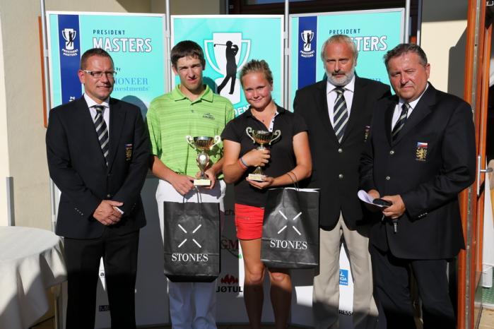 Vítězové 6. Czech Golf Amateur Tour 2012 - President Masters