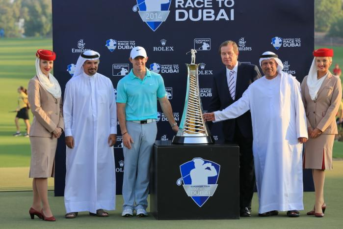 Race to Dubai 2014 prizegiving