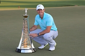 23.11.2014 - DP World Tour Championship 2014 - Jumeirah Golf Estates - Dubai - finále, prizegiving