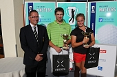 09.09.2012 - 6. Czech Golf Amateur Tour 2012 - President Masters - Austerlitz - prize giving ceremony